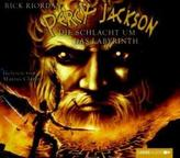 Percy Jackson, Die Schlacht um das Labyrinth, 4 Audio-CDs