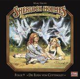 Sherlock Holmes - Die Elfen von Cottingley, 1 Audio-CD