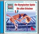 Die Olympischen Spiele / Die alten Griechen, 1 Audio-CD