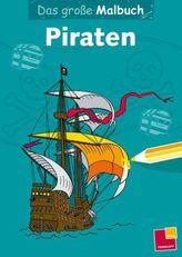 Das große Malbuch - Piraten