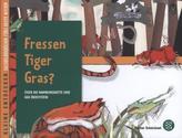 Fressen Tiger Gras?