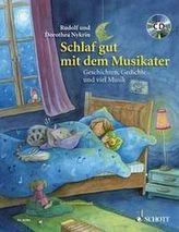 Schlaf gut mit dem Musikater, m. Audio-CD