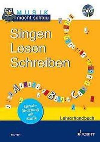 Singen Lesen Schreiben, Lehrerband m. Audio-CD