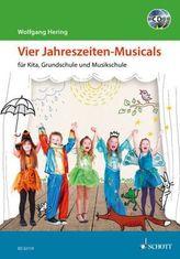 Vier Jahreszeiten-Musicals, m. 2 Audio-CDs