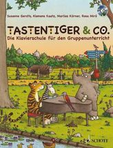 Tastentiger & Co., m. Audio-CD
