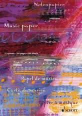 Notenblock - Music Paper / Notenpapier