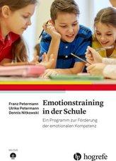 Emotionstraining in der Schule, m. DVD-ROM