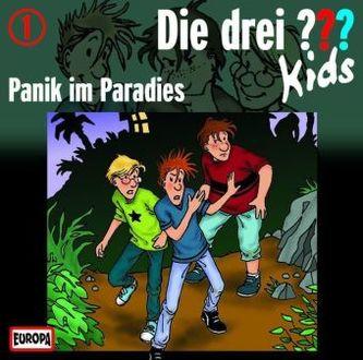 Die drei Fragezeichen-Kids - Panik im Paradies, Audio-CD
