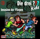 Die drei Fragezeichen-Kids - Invasion der Fliegen, 1 Audio-CD