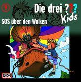 Die drei Fragezeichen-Kids - SOS über den Wolken, Audio-CD