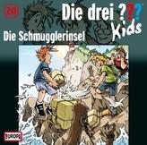 Die drei Fragezeichen-Kids - Die Schmugglerinsel, 1 Audio-CD
