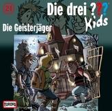 Die drei Fragezeichen-Kids - Die Geisterjäger, 1 Audio-CD