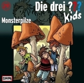 Die drei Fragezeichen-Kids - Monsterpilze, Audio-CD