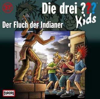 Die drei Fragezeichen-Kids - Der Fluch der Indianer, Audio-CD