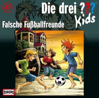 Die drei Fragezeichen-Kids - Falsche Fußball-Freunde, Audio-CD