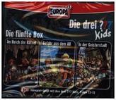 Die drei Fragezeichen-Kids - Die 5. Box, 3 Audio-CDs. Box.5