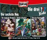 Die drei Fragezeichen-Kids, 3 Audio-CDs. Box.6