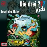 Die drei Fragezeichen-Kids - Insel der Haie, 1 Audio-CD