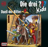 Die drei Fragezeichen-Kids - Duell der Ritter, Audio-CD