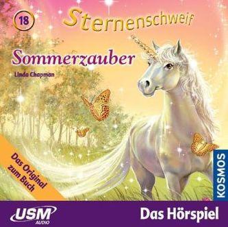 Sternenschweif - Sommerzauber, 1 Audio-CD. Folge.18