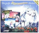 Die große Sternenschweif Hörbox, 3 Audio-CDs. Folge. 4-6