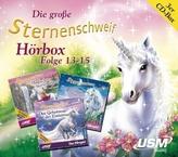 Die große Sternenschweif Hörbox, 3 Audio-CDs. Folge.13-15