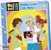 Die drei Ausrufezeichen - Undercover im Netz, 1 Audio-CD