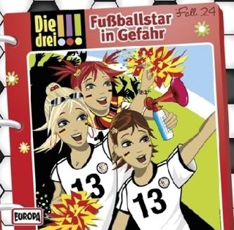 Die drei Ausrufezeichen - Fußballstar in Gefahr, 1 Audio-CD