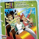 Die drei Ausrufezeichen - Panik im Freizeitpark, 1 Audio-CD