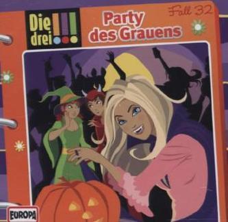 Die drei Ausrufezeichen - Party des Grauens, Audio-CD