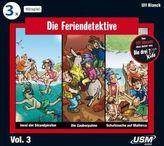 Die Feriendetektive 3-er Hörbox, 3 Audio-CDs. Box.3