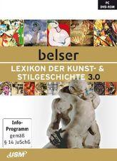 Belser Lexikon der Kunst- & Stilgeschichte 3.0, 1 DVD-ROM