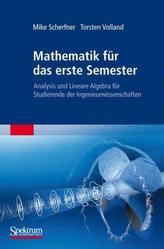 Mathematik für das erste Semester