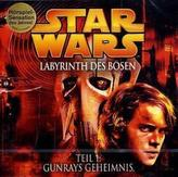 Star Wars, Labyrinth des Bösen, 1 Audio-CD. Tl.1
