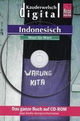 Indonesisch Wort für Wort, 1 CD-ROM