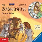 Die Zeitdetektive - Der rote Rächer, 1 Audio-CD