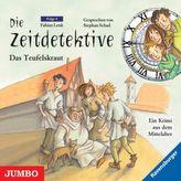 Die Zeitdetektive - Das Teufelskraut, 1 Audio-CD