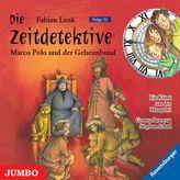 Die Zeitdetektive - Marco Polo und der Geheimbund, Audio-CD