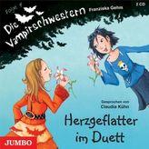 Die Vampirschwestern, Herzgeflatter im Duett, 2 Audio-CDs