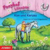 Ponyhof Liliengrün - Kim und Karuso, 1 Audio-CD