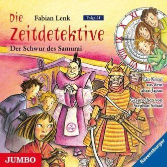 Die Zeitdetektive - Der Schwur des Samurai, 1 Audio-CD