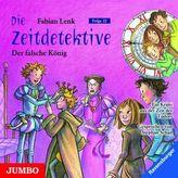 Die Zeitdetektive - Der falsche König, 1 Audio-CD