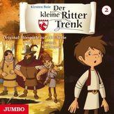 Der kleine Ritter Trenk, 1 Audio-CD. Folge.2