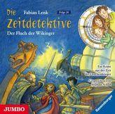 Die Zeitdetektive - Der Fluch der Wikinger, 1 Audio-CD