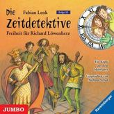 Die Zeitdetektive - Freiheit für Richard Löwenherz, Audio-CD