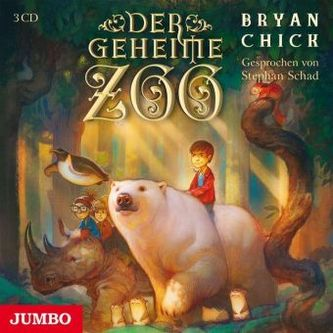 Der geheime Zoo, 3 Audio-CDs