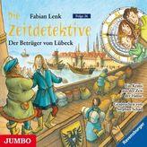 Die Zeitdetektive - Der Betrüger von Lübeck, 1 Audio-CD