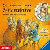 Die Zeitdetektive - Mozart und der Notendieb, Audio-CD