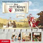 Der kleine Ritter Trenk - Sammelbox II - (CD 4-6), 3 Audio-CDs. Folge.8-13