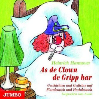 As de Clown de Gripp har, 1 Audio-CD